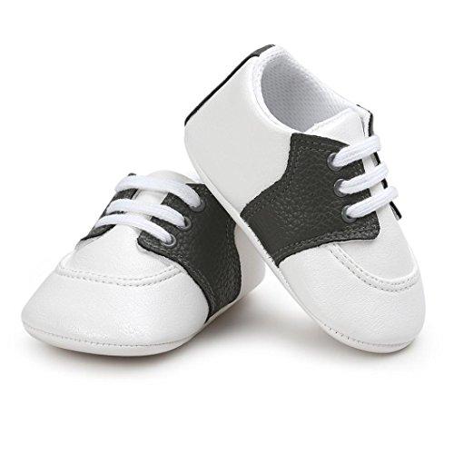 Igemy 1Paar Baby Soft Sole Schuhe Kleinkind Turnschuhe Beiläufig Schuhe Schwarz