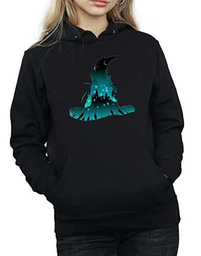 Silhouette Potter Harry Mujer Capucha Negro Hogwarts w1WaHqP