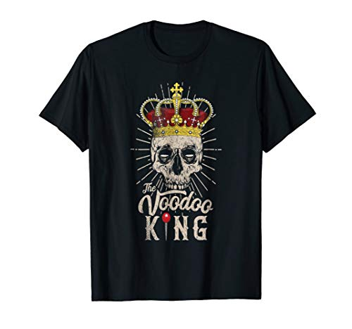 Voodoo King T-Shirt Halloween Costume -