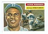 #5: Jackie Robinson Baseball Card (Brooklyn Dodgers) 2010 Topps #CMT121 1956 Topps Reprint