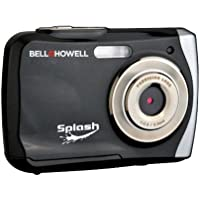 Bell+Howell Splash WP7 12 MP Waterproof Digital Camera-Black Bell+Howell Splash WP7 12 MP Waterproo