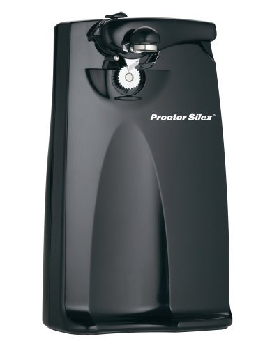 Proctor Silex Plus 76371P Extra-Tall Can Opener, Black by Proctor Silex