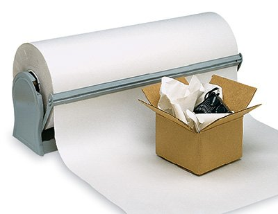 18'' x 1700' Newsprint Wrapping Paper on a Roll (30 lb.) (1 Roll) - AB-240-16 by Miller Supply Inc