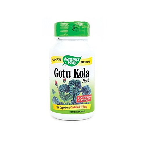 Gotu Kola Herb Nature's Way 100 Caps
