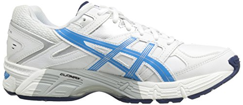 Periwinkle White Silver 190 6 Women's Navy Cross Gel US Shoe Midnight TR B Malibu Asics White Trainer qSx08xE