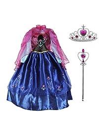 Diseños Candys - Vestido de Ana Frozen