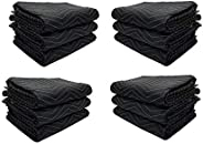 (Weight-55 LB/Dozen) Toronto Trailers 72-Inches by 80-Inches Full Size Moving Blanket (12)
