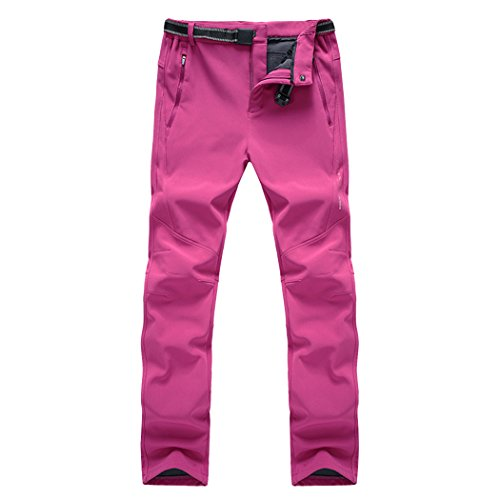 Modern Fantasy Women's Athletic Windproof Fleece Hiking Climbing Warm Active Outdoor Pants