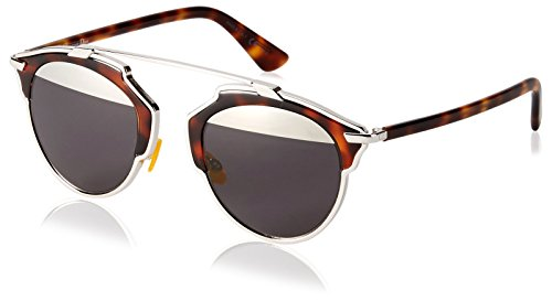 Dior Christian Women's Soreal AOOMD Sunglasses, Havana/Silver - Christian Sunglasses Dior Men