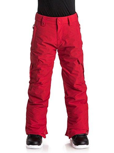 Quiksilver Big Boys' Porter Youth Snow Ski Pant, Racing Red, 14/XL (Racing Ski Pants)