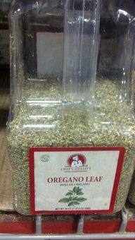 Chef's Quality Oregano Leaves 24 OZ