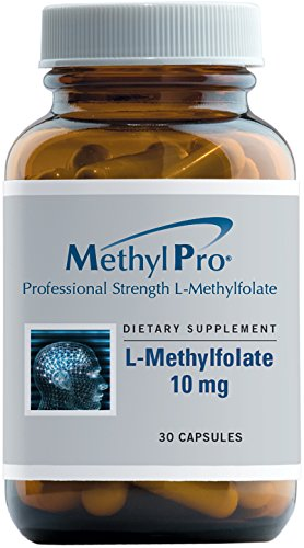 MethylPro - 5-MTHF L-Methylfolate (10 mg) - Professional Strength Active Folate, 30 Capsules