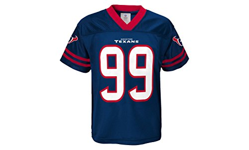 JJ Watt Houston Texans Kids Navy Jersey Large 7 -