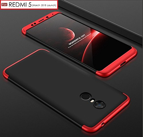 Back Case For REDMI 5 – WOW Imagine 3 in 1 Double Dip Case