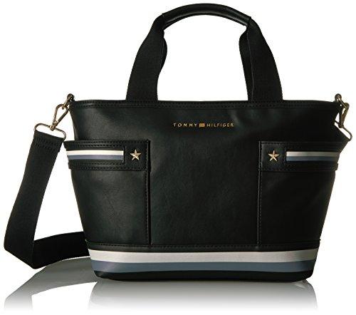 Shopper Larissa Black Tommy Purse Hilfiger Haq7xnUtX