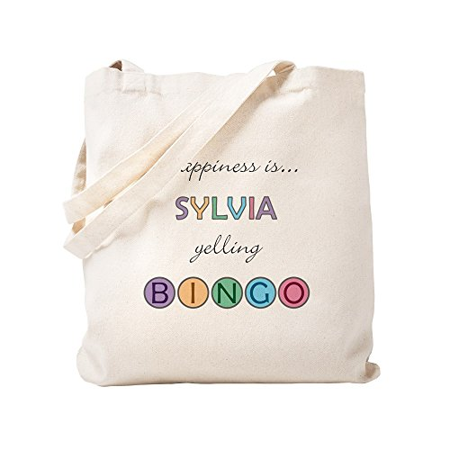 CafePress - Sylvia BINGO - Natural Canvas Tote Bag, Cloth Shopping Bag by CafePress