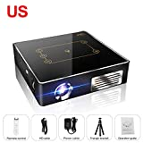 CSQ C9Plus DLP Min Projector 4K Home Theater Projector 2500 Lumens Quad-Core 1.5GHz 2G 16G Dual Wifi 8000mAh Android 7.1 Bluetooth 4.0 2.4G/5G