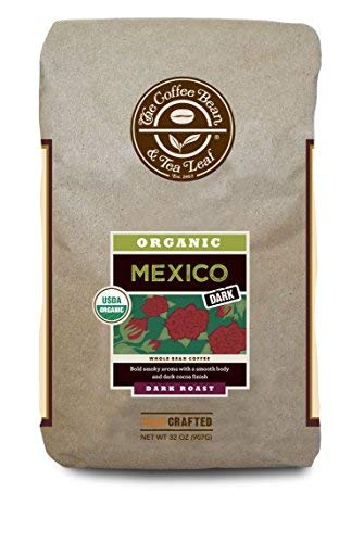 Coffee Bean & Tea Leaf Mexico Organic Dark Roast Ground Coffee – 2 lbs