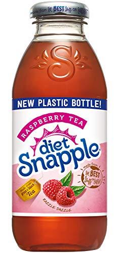 (Diet Snapple Raspberry Tea, 16 fl oz (12 Plastic Bottles))
