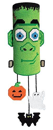 Halloween Frankie Wind Sock Plastic Canvas Kit