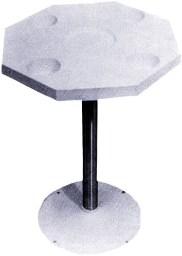 Detmar 12-1103-C Octagonal White Table Top