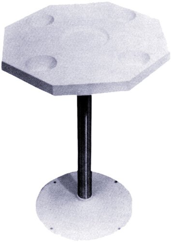 - Detmar 12-1103-C Octagonal White Table Top