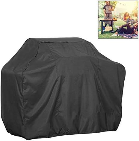 QUAN Storage Bag ストレージボックス収納袋屋外アンチUV防水防塵210Dオックスフォード布バーベキュー広場保護袋木炭バーベキューグリルカバー、サイズ:88x66x100cm(ブラック) (色 : Black)