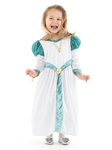 Little Adventures Deluxe Swan Princess Dress Up Costume (Medium Age ()