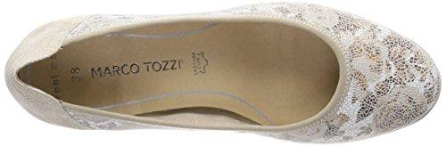 Beige Marco Scarpe Flow Tacco Premio Donna comb con Tozzi 22433 Dune 0wPSq0A
