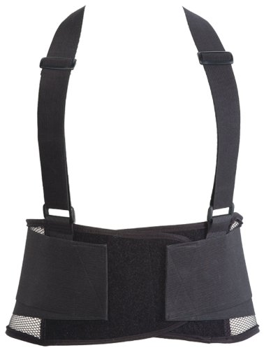 UPC 011726010587, OK-1 01058 Black Lumbar Back Belt, 2X-Large