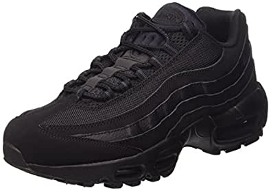 nike air max 95 mens running trainers 609048 sneakers shoes (us 8, black black anthracite 092)