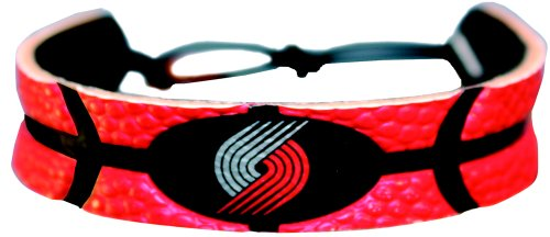 - GameWear NBA Portland Trailblazers Team Color Leather Basketball Bracelet
