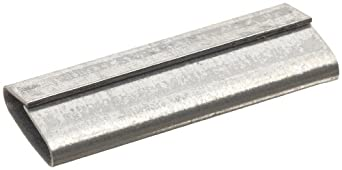 """Strapbinder ST816 High Tensile Pusher Double Knot Seal, 2-1/4"""" Length, 3/4"""" Width (Pack of 700)"""