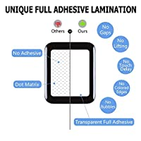 For Apple Watch Screen Protector 42mm, For iWatch Tempered Glass Screen Protector, Full Adhesive Coverage 3D Curved 9H Hardness Anti-bubble Scratch-proof Screen Film for Apple iWatch 42mm Series 1/2/3 by my-handy-design