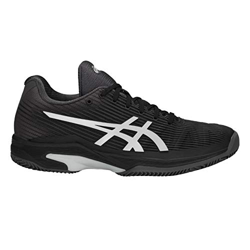 Asics Solution Speed Noir Femme argent Ff Clay Chaussures rqEFgxr