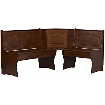 Amazon.com - Pemberly Row Kitchen Dining Nook Corner Bench ...