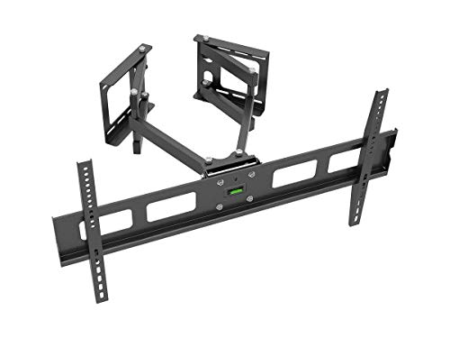 Monoprice Cornerstone Series Full-Motion Articulating TV Wall Mount Bracket - for TVs 37in to 63in Max Weight 132lbs VESA Patterns Up to 800x400 (Renewed) from Monoprice