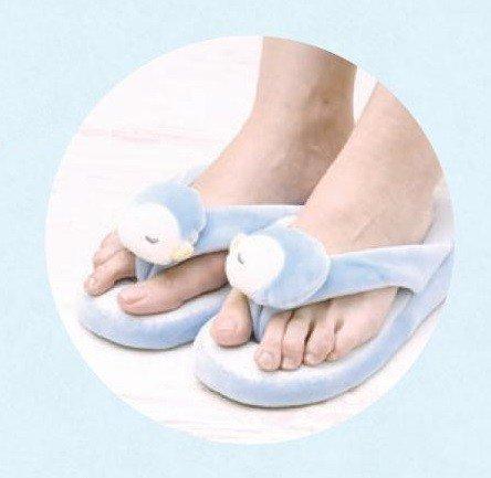 LivHeart Premium Nemu Nemu Animals Cool Slipper House shoes Love The Penguin 48456-61 from Japan mbZKB