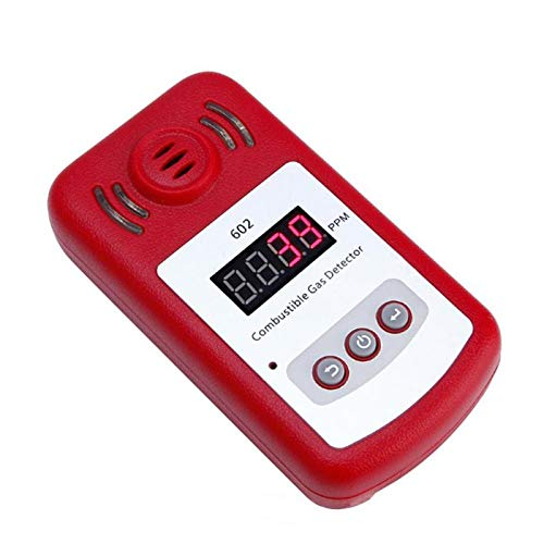 Gas Analyzers - Portable Mini Combustible Gas Detector Leak Tester With Sound And Light Alarm Safety System - Combustion Evap Detector Sensor Alarm Security Equipment Testers Freon Portable