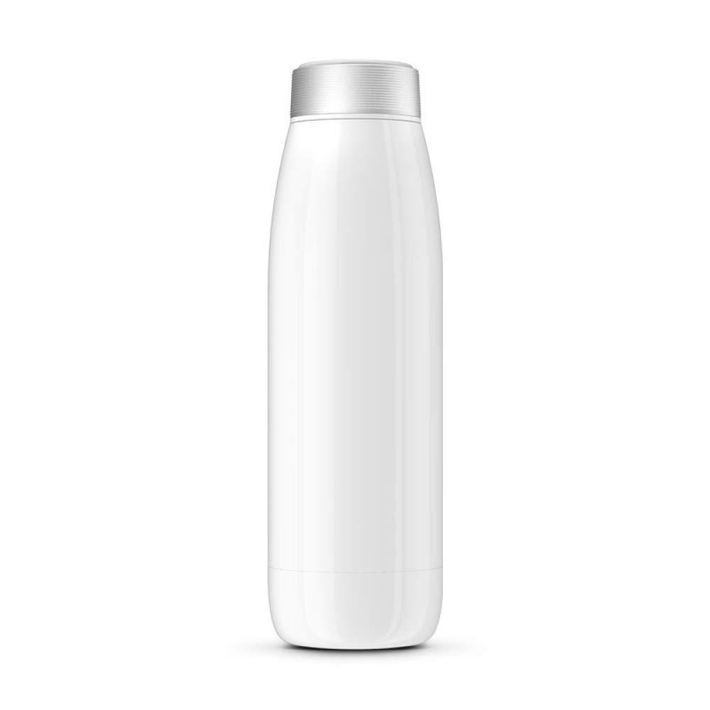 QAS  Intelligente Tragbare Edelstahlflasche des Cups   304  QAS  Geschenkschale Sportbecher des im Freien Becherkopfs 420ml 7f38c3