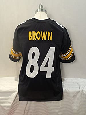 Antonio Brown Pro Style Jersey Novelty Custom Pro Style Jersey NO LOGOS NO TAGS NO PATCHES