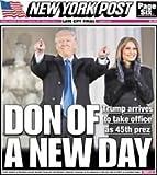 NEW YORK POST JANUARY 20 2017 PRESIDENT DONALD TRUMP INAUGURATION SPECIAL