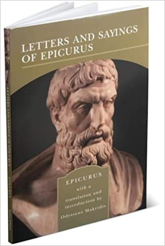 Download Letters And Sayings Of Epicurus By Epicurus
