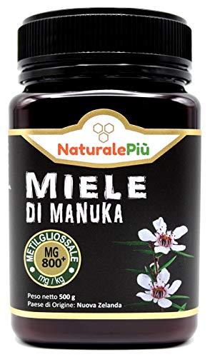 Manuka Honing 800+ MGO 500 gram. Geproduceerd in Nieuw-Zeeland, actief en rauw, 100% zuiver en natuurlijk. Getest op…