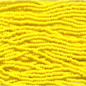 Dark Yellow Opaque - Seed Beads Czech 11/0 Mini Hank 915009