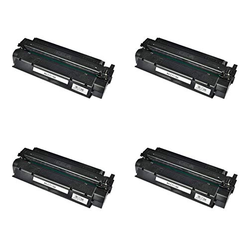 KCYMTONER 4 Packs Compatible High Yield C7115X Toner Cartridge Replacement for Hewlett Packard use with HP 15X LaserJet 1000 1005 1150 1200 1300 3300 3310 3320 3330 3380 1220 1200n ()