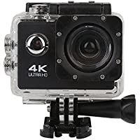 Hanbaili Sports Action Camera, 2.0 HD 2.0MP 90 Degree Lens 4X Zoom Waterproof Sport Action Camera Video DV