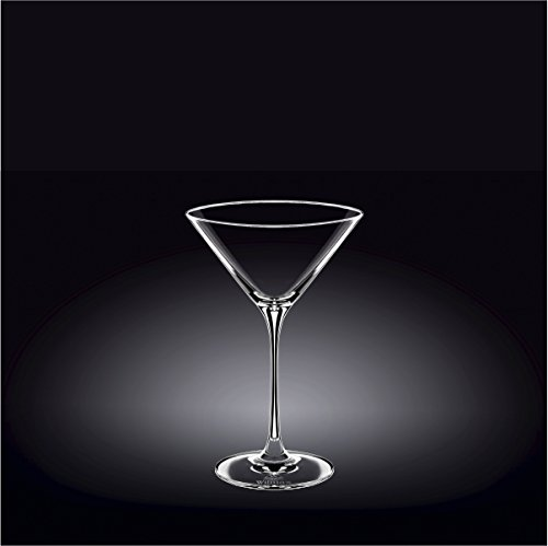 Wilmax 888053 290 ml Martini Glass Set of 244; Pack of 12 by Wilmax