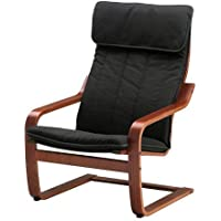 Ikea Chair, medium brown, Ransta black 2204.81720.266