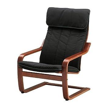 Amazon.com: Ikea Chair, medium brown, Ransta black ...